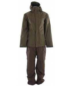 DC Sirdal Full Snow Suit Olive Night/Oak
