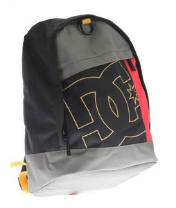 DC Slider Backpack Black/Rasta