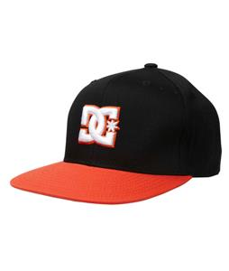 DC Snappy Cap Black Orange