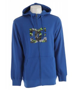 DC Snow Star Zip Hoodie Olympian Blue