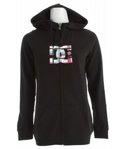 DC Snow Fill FZ Hoodie Black