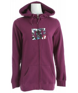 DC Snow Fill FZ Hoodie Dark Purple