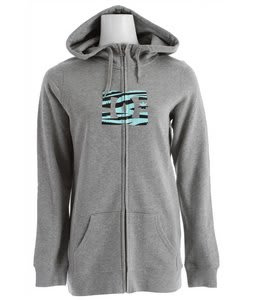 DC Snow Fill FZ Hoodie Heather Galvanized