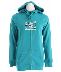 DC Snow Fill FZ Hoodie Lake Blue