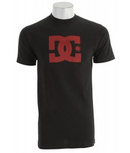 DC Snow Star T-Shirt Black