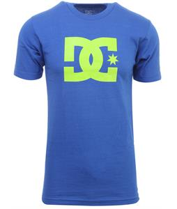 DC Snow Star T-Shirt Olympian Blue