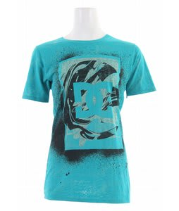 DC Space Spray T-Shirt Tropical Green