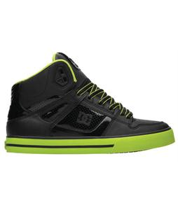 DC Spartan Hi WC Skate Shoes Green/Black