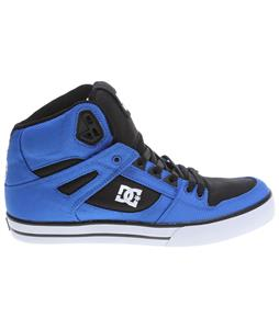 DC Spartan HI WC TX Skate Shoes Royal/Black/White