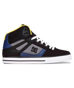 DC Spartan High WC Shoes Black/Dark Slate