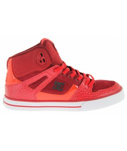 DC Spartan HI WC Skate Shoes Athletic Red
