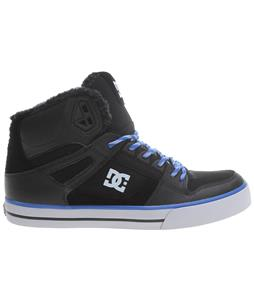DC Spartan HI WC WNT Shoes Black/Nautical Blue