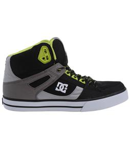 DC Spartan HI WC TX Shoes Black/Battleship/Armor