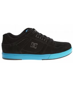 DC Spartan Lite Skate Shoes Black/Future Blue