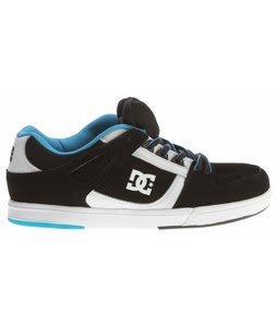 DC Spartan Lite Skate Shoes Black/White/Black