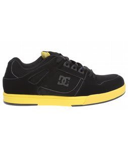 DC Spartan Lite Skate Shoes Black/Yellow