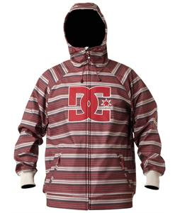 DC Spectrum Snowboard Jacket Black/Red Stripe