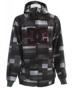DC Spectrum Snowboard Jacket Grey Plaid