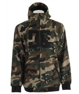 DC Spectrum Snowboard Jacket Camo