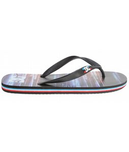 DC Spray Graffik Sandals Black/Multi