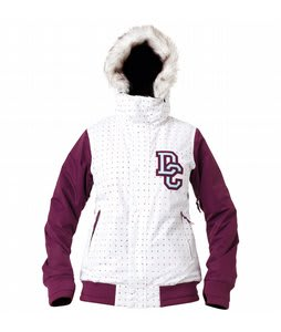 DC Squad Snowboard Jacket Dark Purple