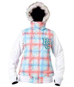 DC Squad Snowboard Jacket White