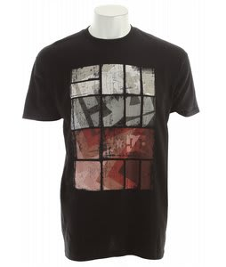 DC Square Stars T-Shirt Black