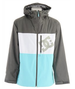 DC Squaw Snowboard Jacket Blue Radiance Shadow