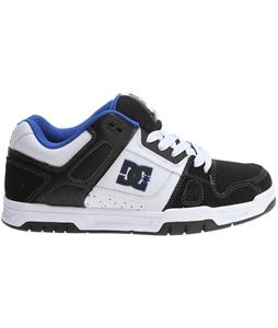 DC Stag Shoes White/Black/Blue