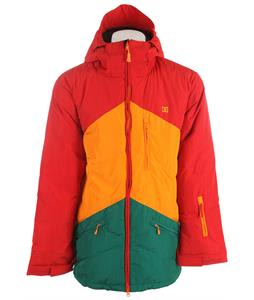 DC Stage Snowboard Jacket Chinese Red