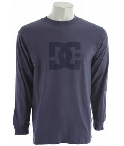 DC Star L/S T-Shirt Blue Indigo