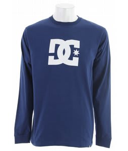 DC Star L/S T-Shirt Estate Blue