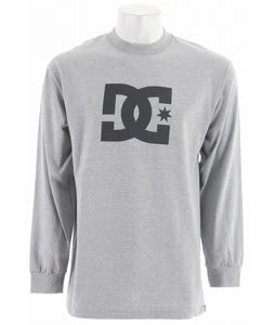 DC Star L/S T-Shirt Heather Grey
