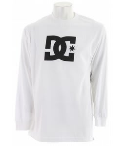 DC Star L/S T-Shirt White