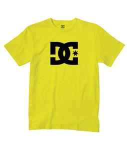 DC Star T-Shirt Fluorescent Yellow