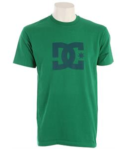 DC Star T-Shirt Kelly Green/Teal