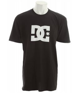 DC Star T-Shirt Black/White