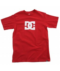 DC Star T-Shirt Deep Red