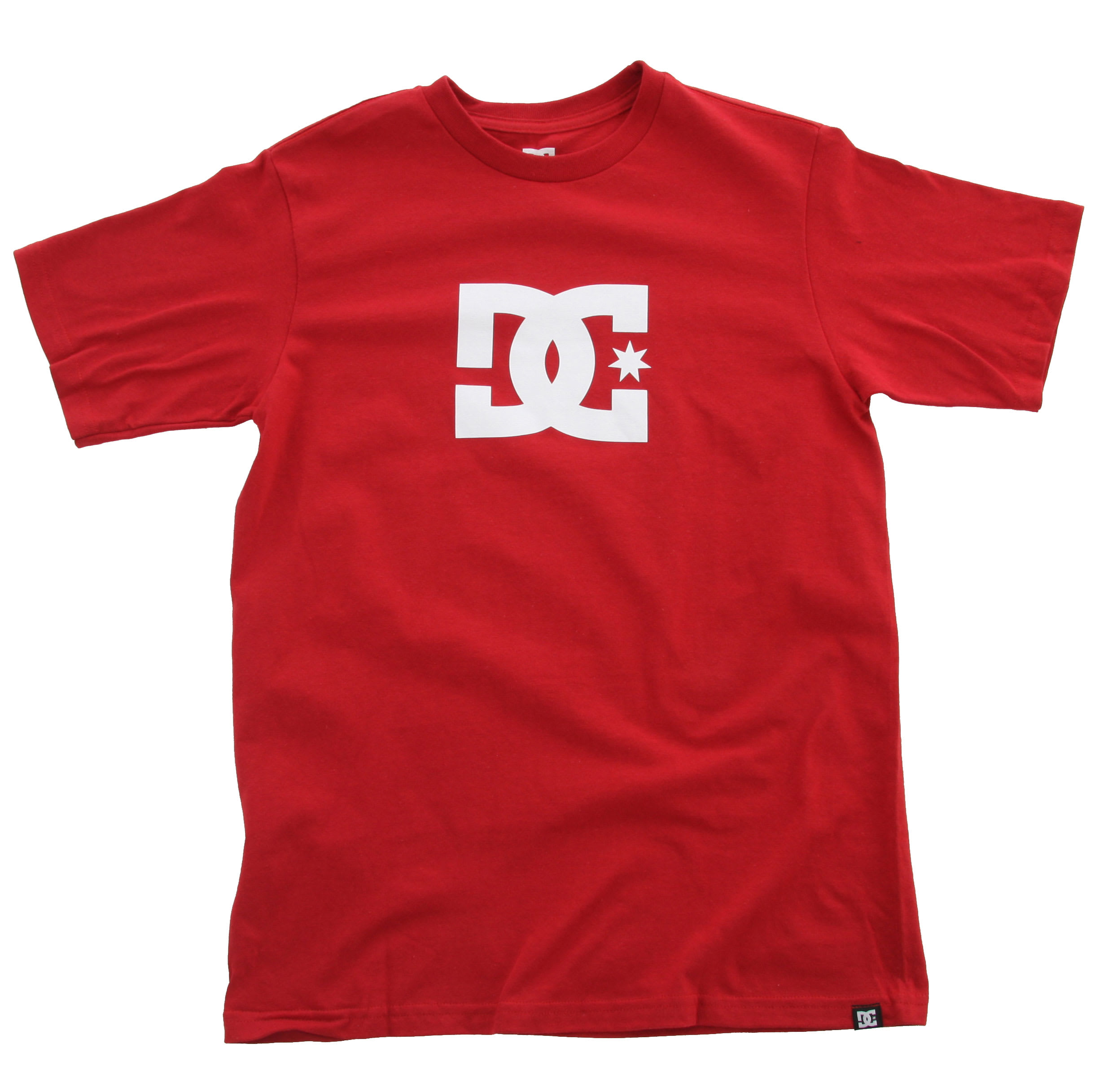 Shop for DC Star T-Shirt Deep Red - Kid's