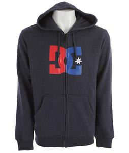DC Star Zh1 Hoodie Heather DC Navy