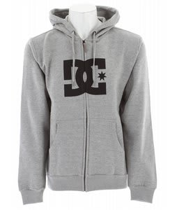 DC Star ZH1 Hoodie Heather Grey/Black
