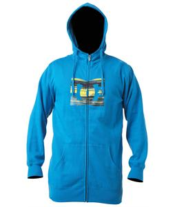 DC Starsnow Zip Hoodie Blue Jay