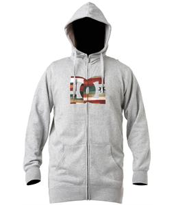 DC Starsnow Zip Hoodie Heather Grey