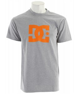 DC Star Snow T-Shirt Heather Grey
