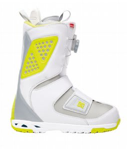 DC Status BOA Snowboard Boots White/Yellow