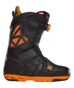 DC Travis Rice Status BOA Snowboard Boots Black/Orange