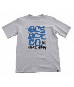 DC Steadman T-Shirt Heather Grey