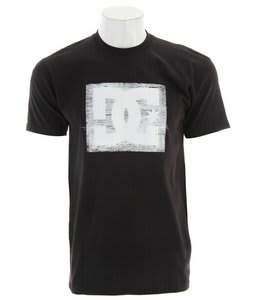 DC Stitch Up T-Shirt Black
