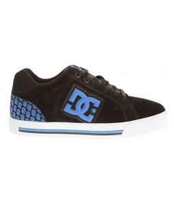 DC Stock Skate Shoes Black/Royal