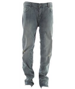 DC Straight Jeans Deconstructed Indigo